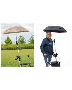 RUSSKA Regenschirm zum Rollator Standard
