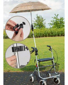 Halterung zum Regenschirm zum Rollator Standard