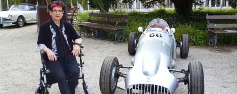 Rollator-Trainerin Cornelia Brodeßer im Interview mit Sanivita