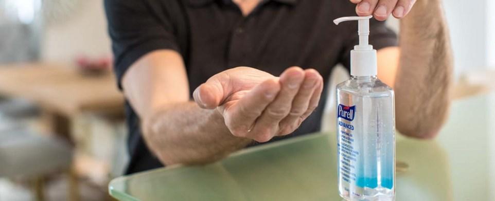 Sanivita - Hände richtig desinfizieren