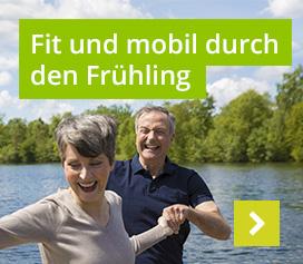Fit und mobil durch den Frühling