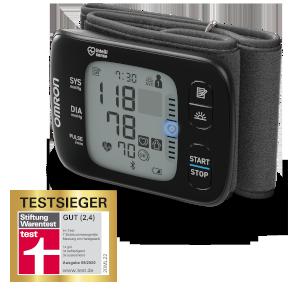 OMRON Handgelenk-Blutdruckmessgerät RS7 Intelli IT