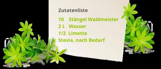 Waldmeister Maibowle Rezept
