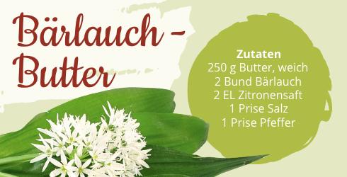 Sanivita Bärlauch-Butter Rezept