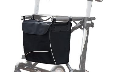 Rollator vital Tasche in schwarz