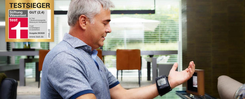Blutdruckmessgereat Testsieger 1240x504v3