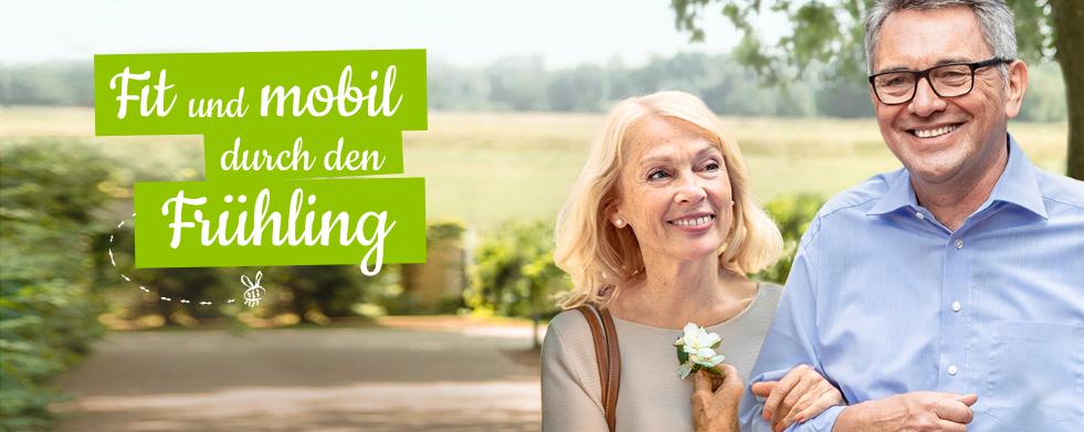 Fit und mobil durch den Frühling »