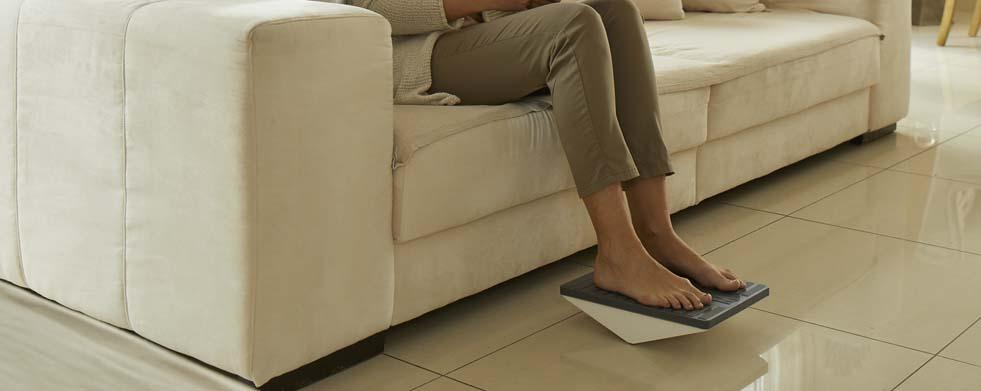 Sanivita Themenwelt Leichte Beine - Mit dem Venentrainer die Venengesundheit fördern