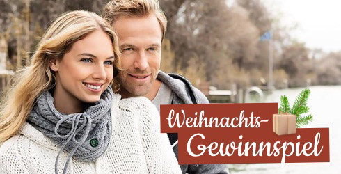 Frau mit beheizbarem Schal von Beurer