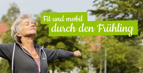 Frau beim Sport mit dem Gymnic Gymnastikball Plus